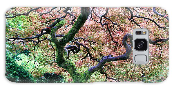 Japanese Tree In Garden Galaxy Case by Athena Mckinzie