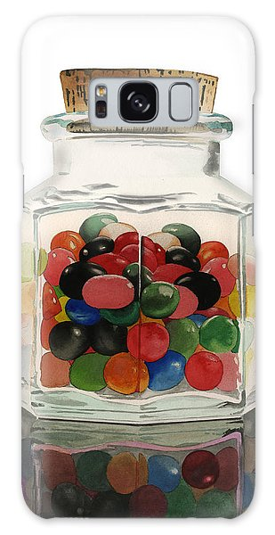 Jar Of Jelly Bellies Galaxy Case by Ferrel Cordle