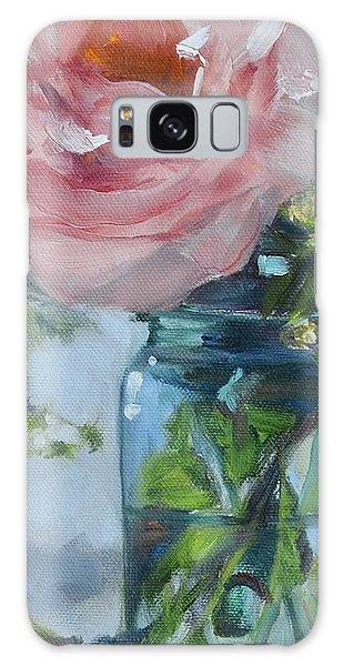 Jar Of Pink Galaxy Case by Donna Tuten