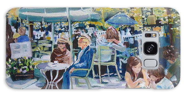Jardin Du Luxembourg Galaxy Case by Julie Todd-Cundiff