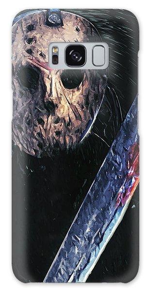 Jason Voorhees Galaxy Case by Taylan Apukovska