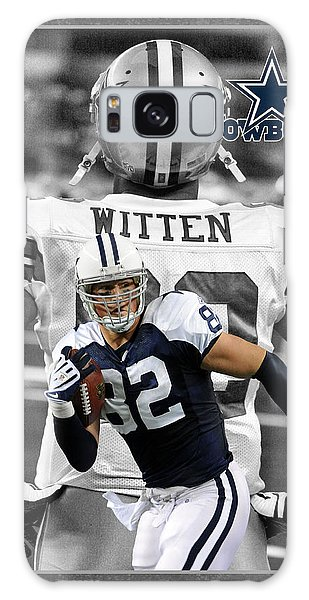 Dallas Galaxy S8 Case - Jason Witten Cowboys by Joe Hamilton
