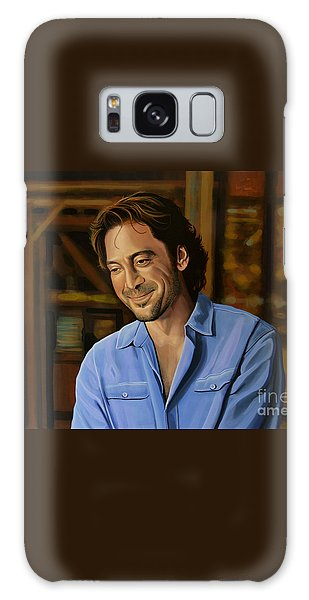 Javier Bardem Painting Galaxy Case