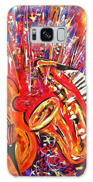 Jazz And The City 2 Galaxy Case by Helen Kagan
