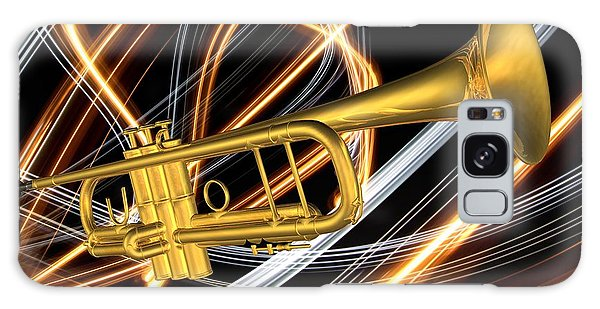 Jazz Art Trumpet Galaxy Case
