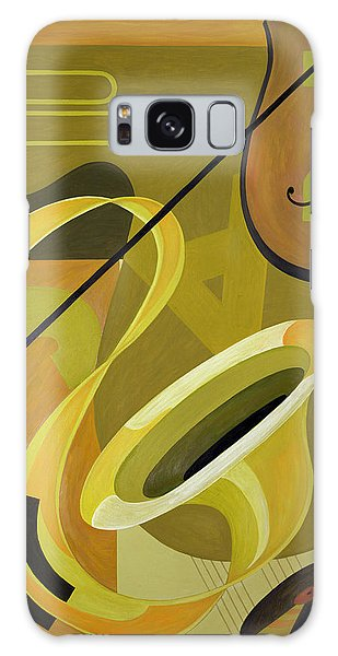 Trombone Galaxy S8 Case - Jazz by Carolyn Hubbard-Ford