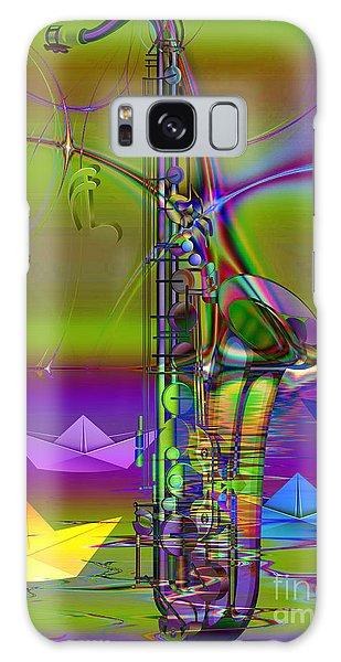 Jazz Chill Galaxy Case