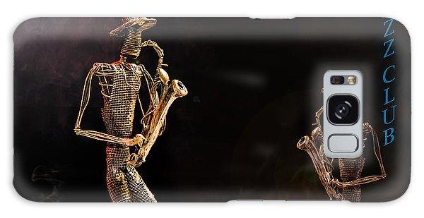 Jazz Club Galaxy Case by Trevor Chriss