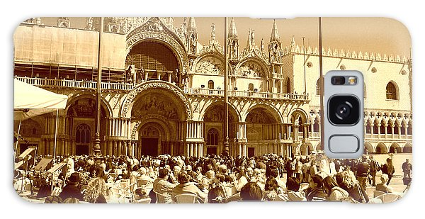 Jazz In Piazza San Marco Galaxy Case