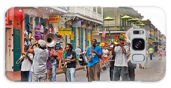 Jazz It Up On The New Orleans Summer Streets Galaxy Case