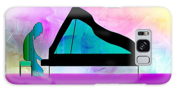 Jazz Pianist Galaxy Case by Frank Bright
