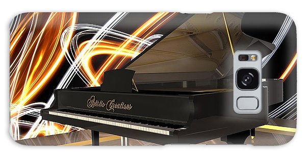 Jazz Piano Bar Galaxy Case