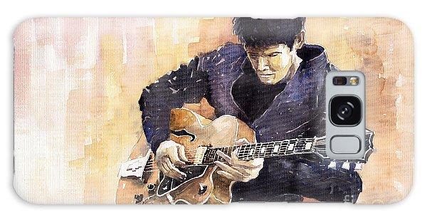 Impressionism Galaxy S8 Case - Jazz Rock John Mayer 02 by Yuriy Shevchuk