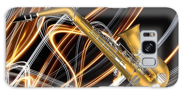 Jazz Saxaphone  Galaxy Case