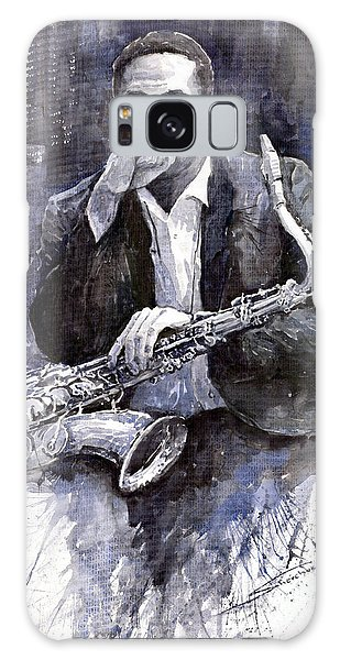 Jazz Saxophonist John Coltrane Black Galaxy S8 Case