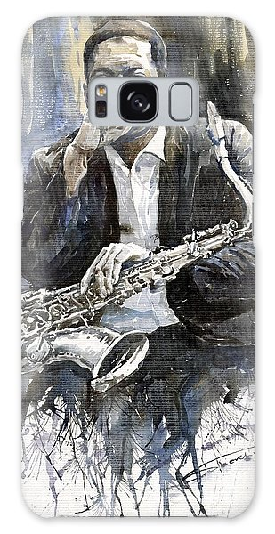 Jazz Saxophonist John Coltrane Yellow Galaxy S8 Case