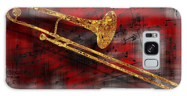 Trombone Galaxy S8 Case - Jazz Trombone by Jack Zulli