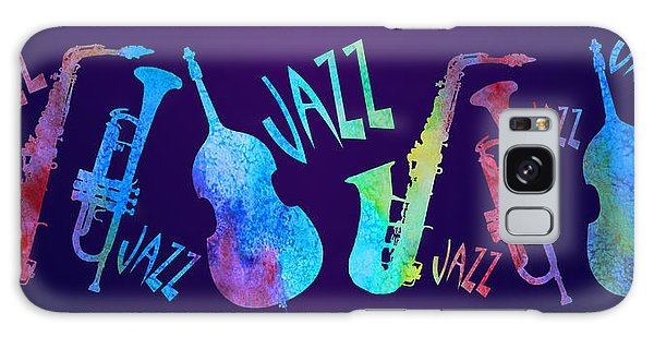 Jazzy Combo Galaxy Case by Jenny Armitage