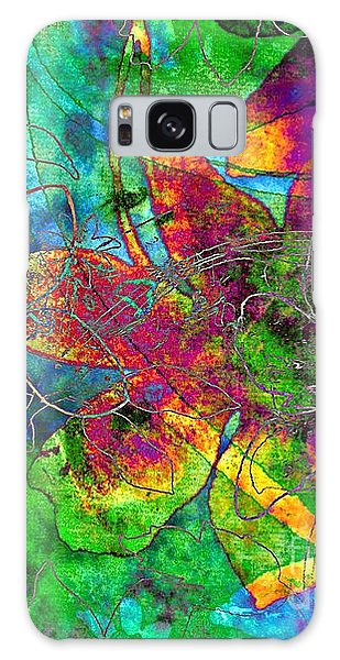 Jazzy Galaxy Case by Darla Wood