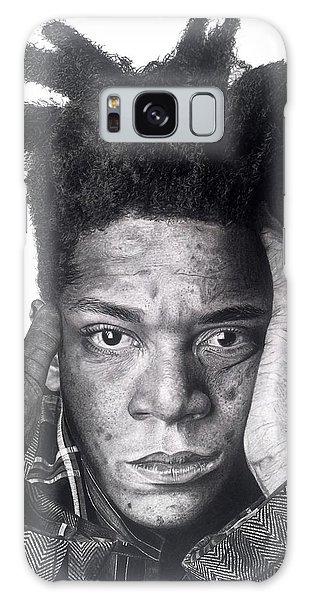 Jean-michel Basquiat Drawing Galaxy Case