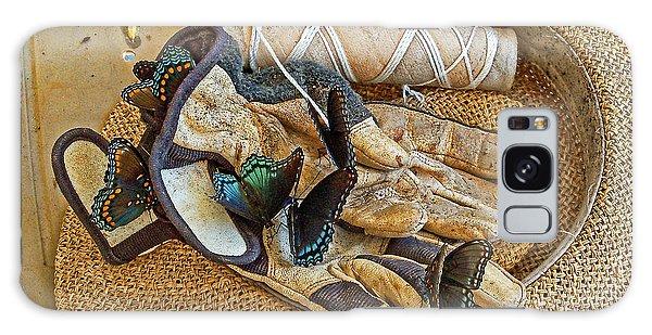 Jean's Butterflies Galaxy Case by Larry Bishop