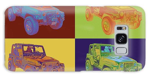 Jeep Wrangler Rubicon Pop Art Galaxy Case