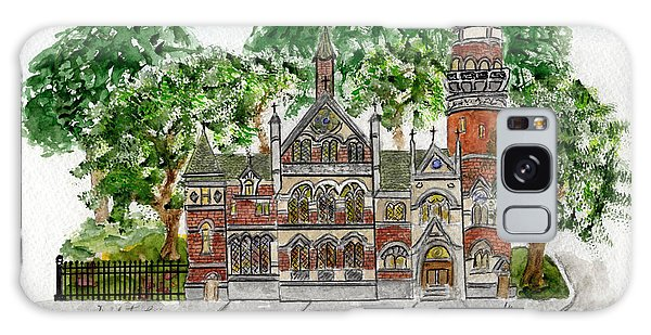 Jefferson Market Library Galaxy Case by AFineLyne