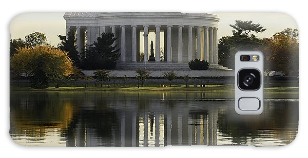 Jefferson Memorial In Autumn Galaxy Case