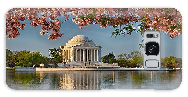 Jefferson Memorial In Spring Galaxy Case
