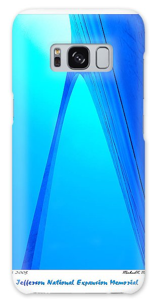 St Louis Mo Galaxy Case - Jefferson National Expansion Memorial by Mike McGlothlen