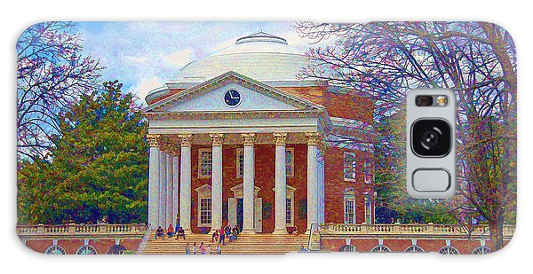 Jefferson's Rotunda At Uva Galaxy Case