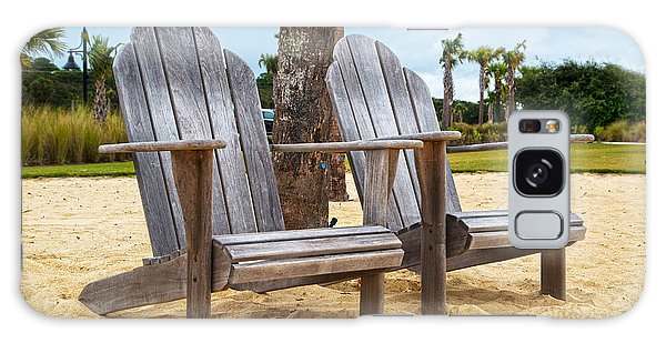 Adirondack Chair Galaxy Case - Jekyll Island Adirondacks  by Betsy Knapp