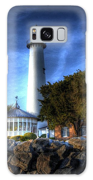 Jekyll Island Lighthouse Galaxy Case