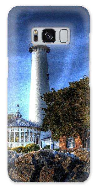 Jekyll Island Lighthouse Galaxy Case