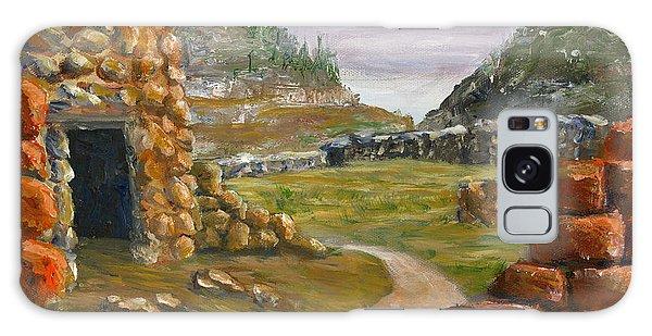 Jemez Inspired Pathway Landscape Galaxy Case by Lenora  De Lude