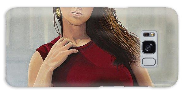 Bone Galaxy Case - Jennifer Lawrence Painting by Paul Meijering