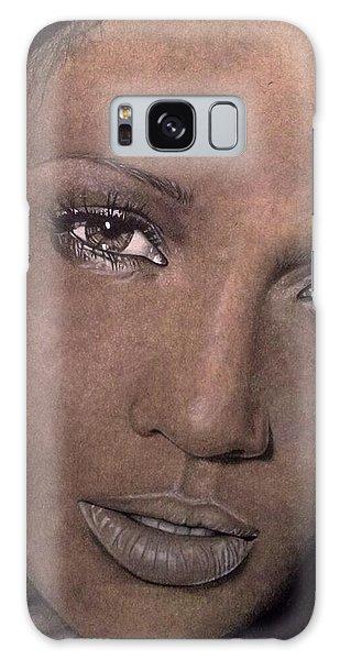 Jennifer Lopez Galaxy Case by Angelee Borrero