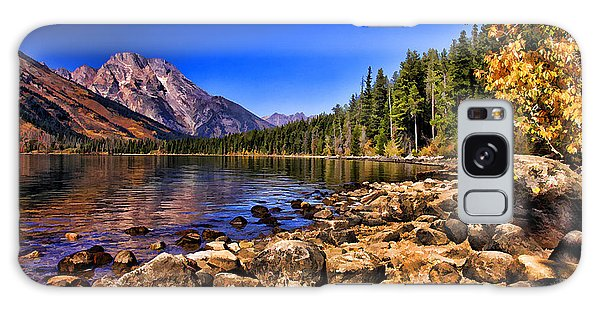 Jenny Lake Galaxy Case by Clare VanderVeen
