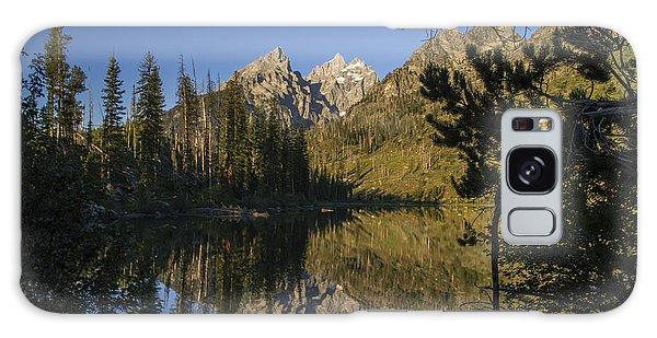 Jenny Lake Galaxy Case by Michael J Bauer