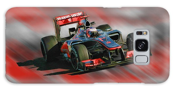 Jenson Button  Galaxy Case