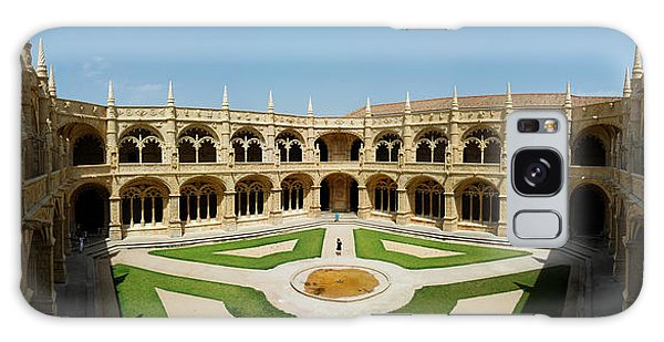 Jeronimos Monastary Galaxy Case