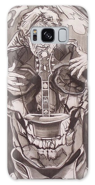 Jerry Garcia . . Magic Is What We Do - Music Is How We Do It Galaxy Case by Sean Connolly