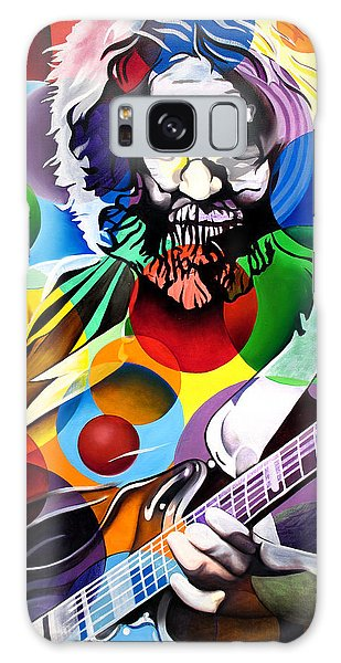 Jerry Garcia In Bubbles Galaxy Case