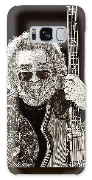 Jerry Garcia String Beard Guitar Galaxy Case