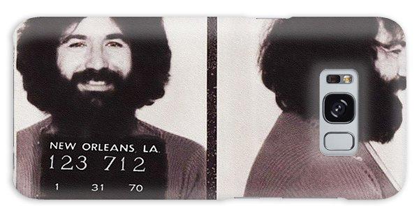 Jerry Garcia Mugshot Galaxy Case by Bill Cannon