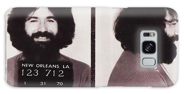 Jerry Garcia Mugshot Galaxy Case