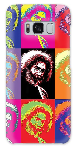 Tribute Galaxy Case - Jerry Garcia Pop Art Collage by Dan Sproul