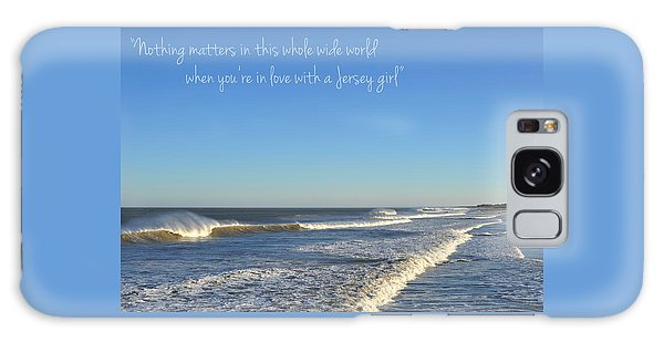Jersey Girl Seaside Heights Quote Galaxy Case