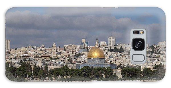 Jerusalem Old City Galaxy Case