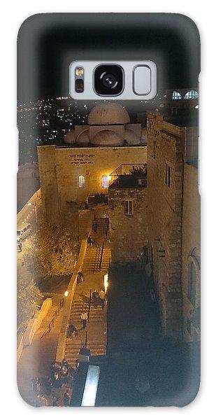 Jerusalem The Old City  Galaxy Case